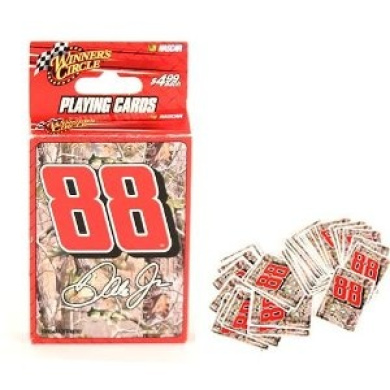 Nascar Dale Jr Camo Style Playing Cards