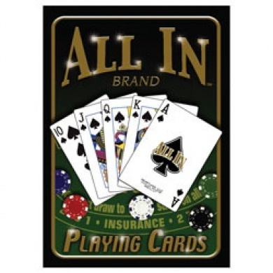 DAS All in TM Brand Poker Playing Cards - DAS A131