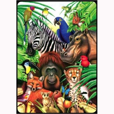 Animal Jungle (1) Deck Bridge Playing Cards