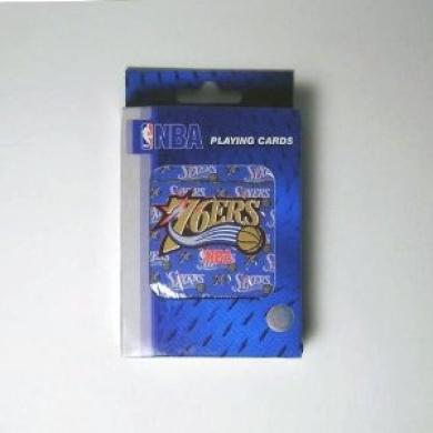 Philadelphia 76ers NBA Basketball Playing Cards - Great for Poker