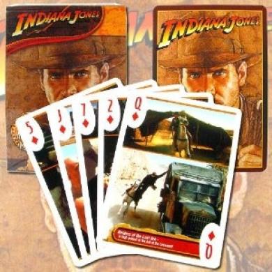 Deck of Indiana Jones Movie Saga Playing Cards