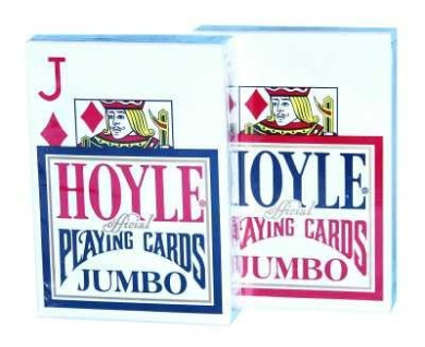 United States Playing Cards Hoyle 0744-1090 Official Jumbo Index Playing Cards