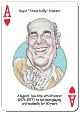 HeroDecks - Greatest Poker Heros - Playing Cards