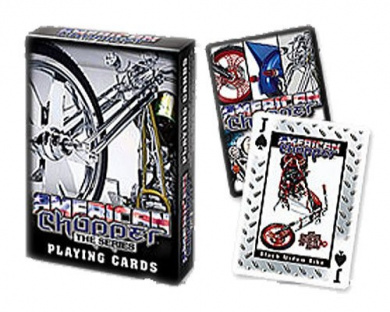 American Chopper The Series Collectibles Poker Playing Cards - Custom Made Choppers