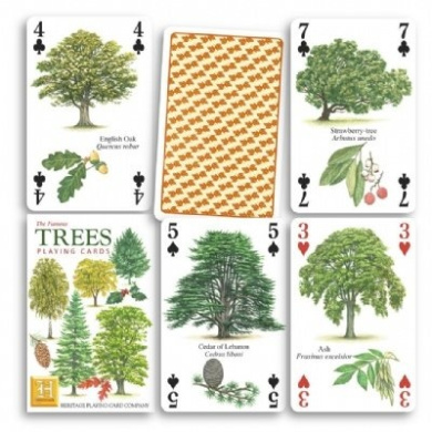 Trees (European) Playing Cards