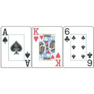Collection of Brazil Series Bahia Plastic Copag Cards Bridge Size Jumbo Index w/ Free Copag Cut Cards