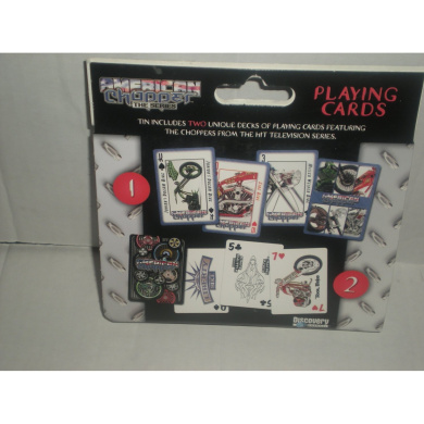 American Chopper Playing Cards