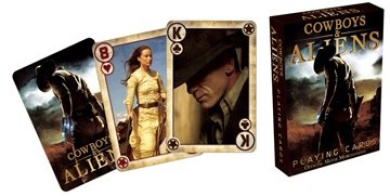 Cowboy & Aliens Playing Cards 52198