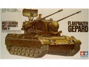 West German Flakpanzer Gepard - 1:35 Scale Military - Tamiya