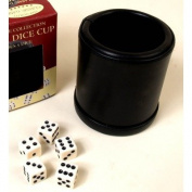 Classic Game Collection Leather Dice Cup