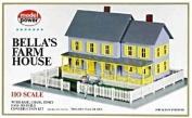 Model Power HO Scale Building Kit - Bella's Farm House