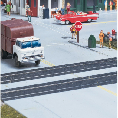 Walthers Cornerstone Series Kit HO Scale Grade Crossing