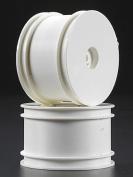 Associated B4, B44 Rear Dish Wheel 2.2 White (2), 9589