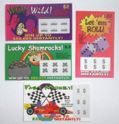 Fake Lottery Tickets 20 Pack