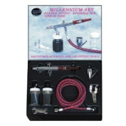 Paasche MIL-SET Double Action Syphon Feed Airbrush Set