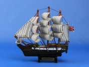 HMS Surprise 18cm  - Wood Replica Tall Ship Model Not a Model Kit