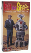 Dr. Zachary Smith and Robot B-9 by Polar lights