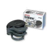 Carson TriView 3x/5.5x/8.5x and 5x/10x/15x Folding Loupes with Built-In Case
