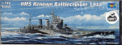 Trumpeter 1/700 HMS Renown British Cruiser 1945 Model Kit