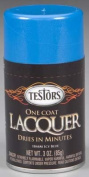 Testors 1844MT 90ml Lacquer Spray Gloss Paint, Icy Blue
