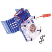 Team Integy Motor Heatsink/Fan, Blue