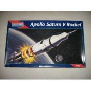 apollo saturn v rocket 1/144 scale model kit