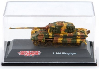 1:144 Scale WWII Tank: King Tiger