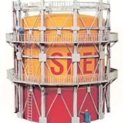 Model Power Deluxe Gas Tank Kit - Shell