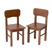 Gift Mark Children's 2 Chair Set Designed to match 1407C Table, Cherry