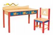 Little Lizards Student Desk Room Magic with matching chair RM85-LL