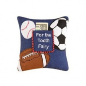 """""""For The Tooth Fairy"""" Pillow, Sports"""