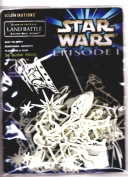 Star Wars Episode 1 Illuminations Glow-in-the-dark Land Battle Action Wall Scene