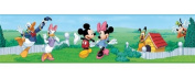 Roommate RMK1505BCS Mickey and Friends Peel and Stick Border