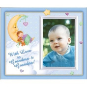 With Love to Grandma & Grandpa -Boy (MoonBaby) - Picture Frame Gift