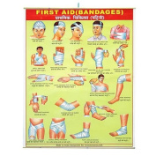 First Aid Bandages Hanging Banner