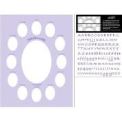 Baby Lavender Scrap-a-mat Photo Mat 11 X 14