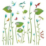 Wall Sticker, Water Lilies