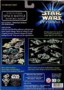 Star Wars Episode 1 Illuminations Glow-in-the-Dark Space Battle Action Wall Scene