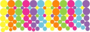 Pop Dots Multicoloured /Wall Stickers,Decals,Graphic Decor