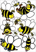Bee Wall Decals, Stickers