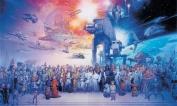 Roommate JL1230M 6 ft. x 10.5 ft. Star Wars Saga XL Wallpaper Mural