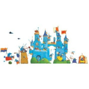 Fantastic Castle Re Positionable Wall Stickers