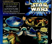 Star Wars Episode 1 Illuminations Glow-in-the-dark Gungan Adventure Action Wall Scene