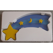 """Borders Unlimited """"Twinkle Moon"""" Decorative Wall Art with Shooting Stars"""