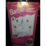 Barbie Jumbo Stick-ups - Decorate a Wall in Minutes!!