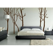 Large Wall Tree Decal Forest Kids Vinyl Sticker Removable 210cm (2.1m) Tall #1115