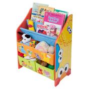 Sesame Street Book and Toy Organiser
