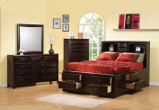 Coaster Six Drawer Chest in Rich Cappuccino Finish