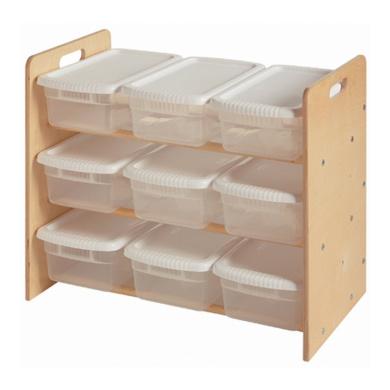 Little Colorado Nine Bin Toy Organiser