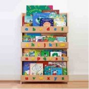 Tidy Books® Original Classic Bookcase Clear Lowercase Letters